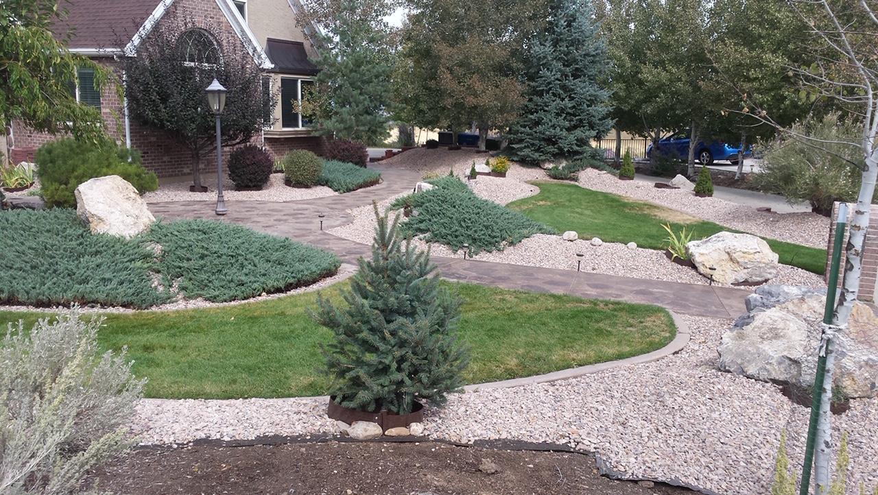 Utah County Landscaping Decorative Rock Walls Oakley Landscaping
